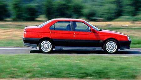 der alfa romeo 164 qv 24 v von 1993